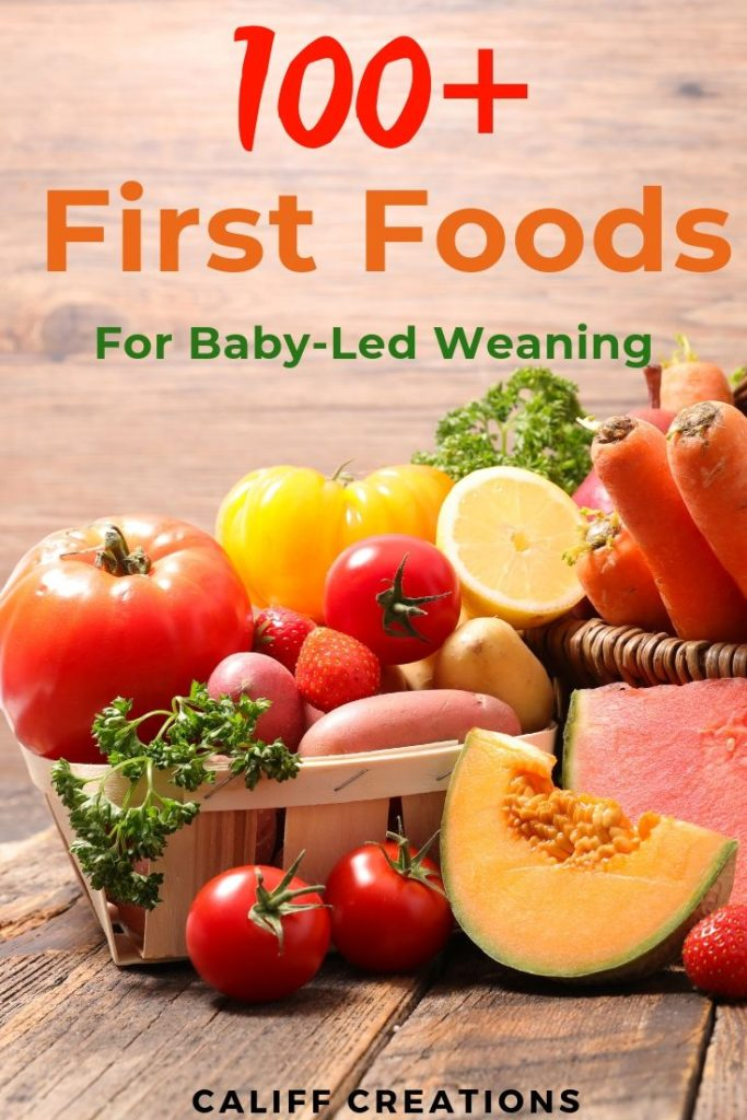 100 First Foods For Baby Led Weaning Califf Life Creations Califf Life Creations Look for signs of decay. califf life creations