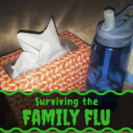 family, flu, survivial, blog